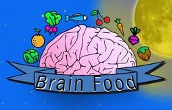 Medium brain food infographic head